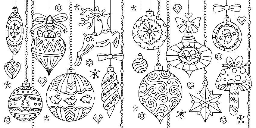 i heart christmas coloring pages